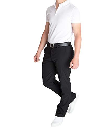 J.Lindeberg Ellott Slim Micro Stretch Men s Golf Trousers - Black - 32 32 f60a886a4286
