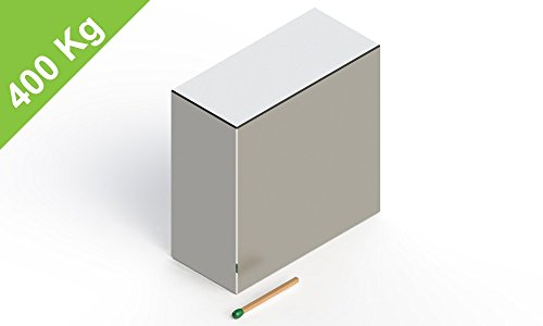 Neodym Quadermagnet, 65x65x30mm, vernickelt, Grade N52, Blockmagnet Industrie-Magnete