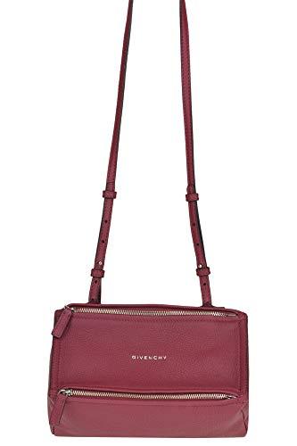 Givenchy Pandora Grainy Leather Bag Woman Raspberry unica int.