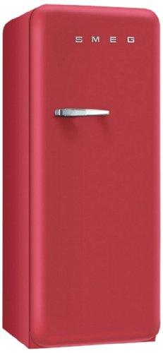 Smeg FAB28RRV1 frigo combine - frigos combinés (Autonome, Rouge, Placé en haut, Droite, A++, SN-T)