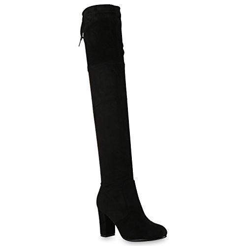 Stiefelparadies , bottines classiques femme Schwarz Black
