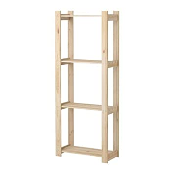 Regal ikea  IKEA ALBERT -Regal Weichholz Kiefer - 63x27x159 cm: Amazon.de ...