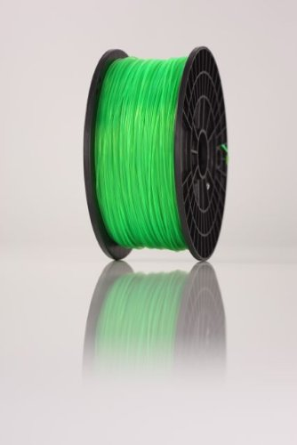 Filament imprimante 3D sur bobine 1kg PLA 1.75mm VERT ,makerbot,reprap,ultimaker,up