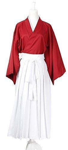Preisvergleich Produktbild [Alle vier size] Kenshin Himura Kenshin Cosplay rot Hakama ver Kostum %ÀÞÃ%wig separat erhaltlich%ÀÞÃ% SML XL SK (1. Himura Kenshin rot S)