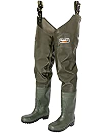 Snowbee Men's Granite Pvc Thigh with Cleated Sole Wader