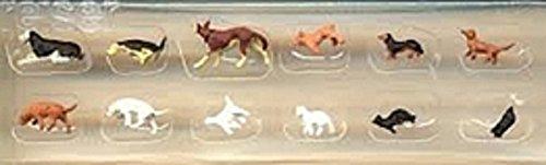 Preiser 1/87 Ème Preiser 1/87th–pr14165–Modelleisenbahnen–Hunde und Katzen