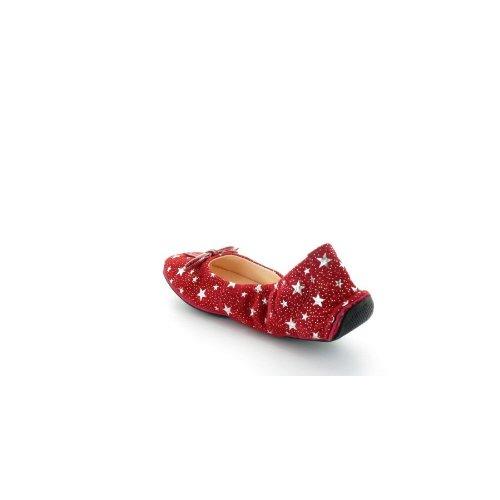 Ballerine Couleur Pourpre Balib's Rouge Etoile Rouge