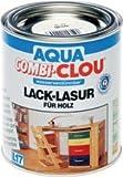 Aqua Combi-Clou Lack-Lasur  0,375 L, dunkelnussbraun