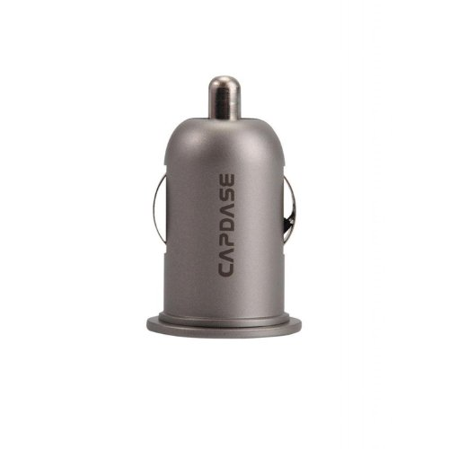 Capdase CACB-PM0T 5V 2.4Amp Dual USB Car Charger (Titanium)