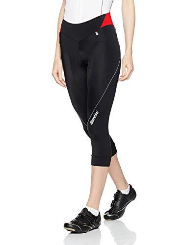 Pantalone Kostüm - Santini FS134PROMEAR Mearesy Damen-3/4-Hose Pro Grace XX-Small rot