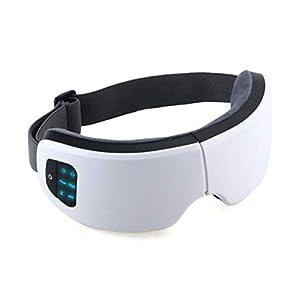 Angle 4D-Augenschutz, Schlafmaske, heiße Kompress-Luft-Augenmassage, fortgeschrittenes Geweih-Tuch Stoff, Massage-Augenschutz Verstellbarer Schultergurt, geeignet für Männer, Frauen und Kinder