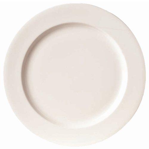Royal Bone - Platos de porcelana (6 unidades, 270 mm), color crema