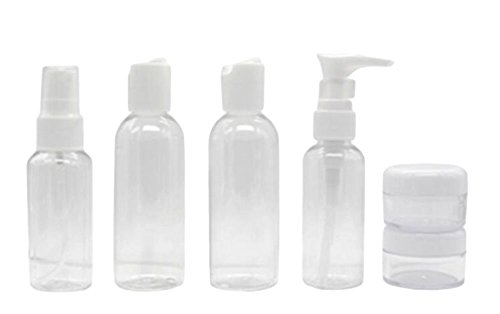 Exquis cosmétiques bouteilles Bouteille d'applicateur-01(Ensemble de Six)