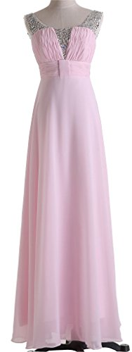 Drasawee - Robe - Taille empire - Femme Rose - Rose
