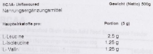 Myprotein BCAA Unflavoured, 1er Pack (1 x 500 g) - 2