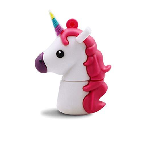 Chiavetta usb 2.0da 32gb memoria flash usb, lindo unicorno chiavette usb b