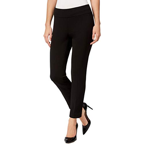 Nine West Womens Work Wear Mid-Rise Ankle Pants