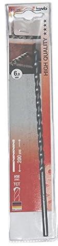 kwb Mauerdurchbruchbohrer Ø 8,0 mm 041008 (Länge 200 mm, hartmetallbestückt, nach ISO 5468)
