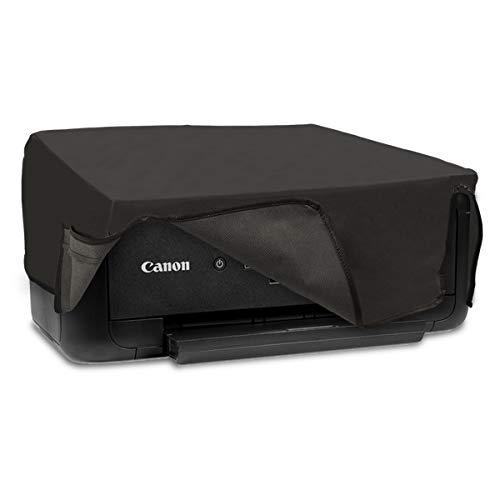 kwmobile Canon Pixma TS5150 / 5151 / MG 2555 Hülle - Drucker Staubschutzhülle Schutzhaube Schutzhülle für Canon Pixma TS5150 / 5151 / MG 2555 - Dunkelgrau
