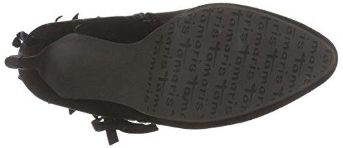 black Tamaris 055 25339 Damen black Stiefel Kurzschaft Schwarz pX5Xrx0nO