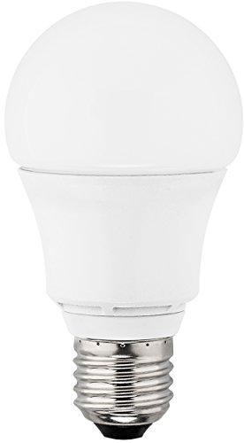 Preisvergleich Produktbild MÜLLER-LICHT 400139 A+,  LED Lampe Birnenform Doppelpack ersetzt 60 W,  Plastik,  10.0 W,  E27,  weiß,  10.9 x 6.0 x 6.0 cm