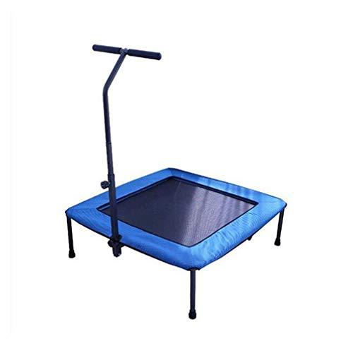 Jucaiyuan Jcy Trampolin Fitness, Zu Hause Stumm Kinder Erwachsene Kleine Trampolin Falten Abnehmen Gewichtsverlust Sprungbett Quadrat Lager 100 Kg