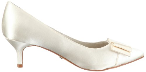 Menbur Wedding Galatea 04759, Scarpe con tacco da sposa Avorio (Elfenbein/Ivory)