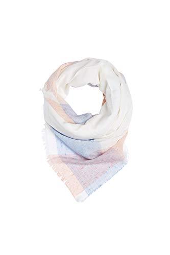 ESPRIT Accessoires Damen 069EA1Q003 Schal, Weiß (Off White 110), One Size (Herstellergröße: 1SIZE)