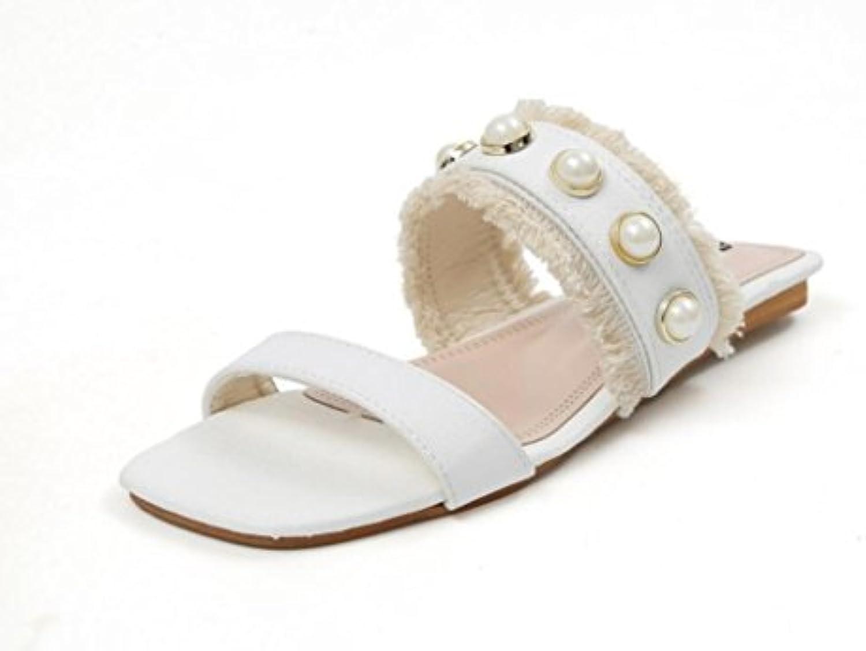 NVLXIE Lady stivali stivali stivali Estate Dolce Xi Shi Velvet Quadrato Capo Rugiada Piede Piedi Piedi Bottoni Piani Giornalieri... | Liquidazione  467378