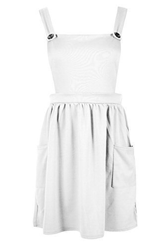 Fashion Star Damen Kleid Creme