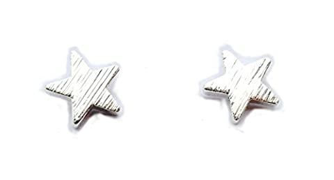 Star Earings (Silver Plated)