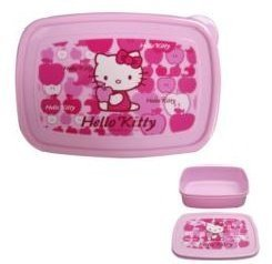 Hello Kitty Sanrio Apple (Hello Kitty Pink Apple Lunch Box Container)