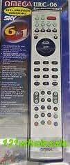 URC06 Omega Télécommande universelle 6 en 1