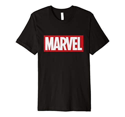 Marvel Classic Logo with Icons T-Shirt - Jessica Schwarz T-shirt