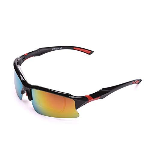 Whhhherr Mode Outdoor-Sportbrillen, Reiten polarisierten Sonnenbrillen (Farbe : B)