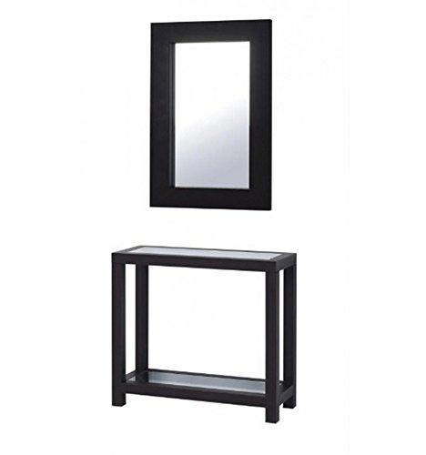 Consola-de-forja-Line-Lila-mariposas-Consolas-con-cristales-mate-Consola-espejo-con-5-de-descuento