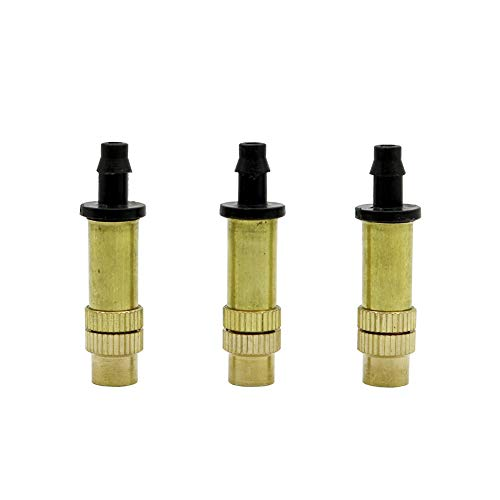 adhere to Fly Lot de 20 Cuivre réglable Spray pulvérisation d'arrosage Dripper émetteur Drip Arroseur sur 1/4 \