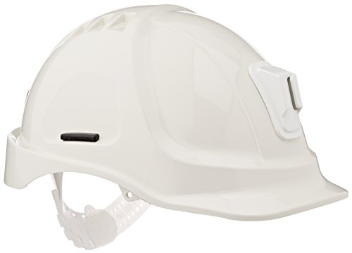Scott Safety HC600/W/04 Mining Helmet Unvented with Terry SB, White