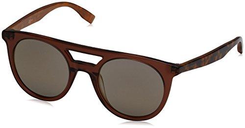 Boss orange bo 0266/s ct gph, occhiali da sole unisex-adulto, marrone (brw hvnornge/copper grey speckled), 51