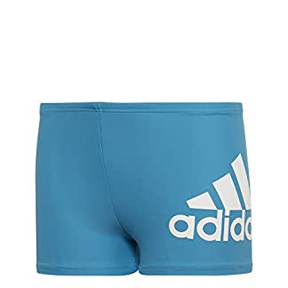adidas Badge of Sports Boys Boxer Swimwear, Bebé-Niños