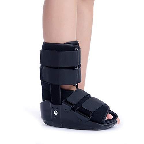 JJZXPJ Walker Brace,Walking Boot Verstellbare FußOrthese Fixierung FußTropfenorthese for KnöChel- Und FußVerletzungen Linderung Von Schmerzen Bei AchillessehnenentzüNdungen Frakturstiefel (Size : S) -
