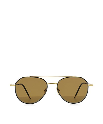 thom-browne-mens-tb105cnvygld55-gold-steel-sunglasses