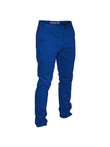 Hurley Herren Chino Hose Corman 3 Pants ultramarine blue