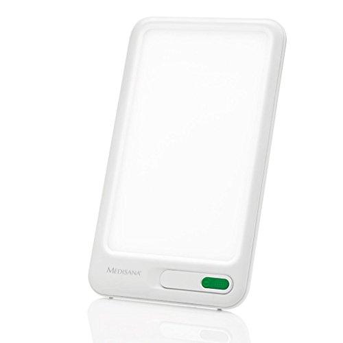 Medisana LT 460 Tageslichtlampe 45220, Lichttherapie gegen Depressionen, Lichtdusche, simuliert Tageslicht mit einer Lichtstärke von 10,000 Lux, weiß