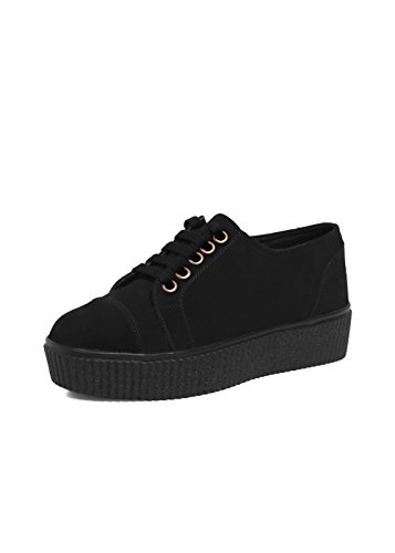 Beonza Women Black Current Fashion Sneakers Casual Shoes