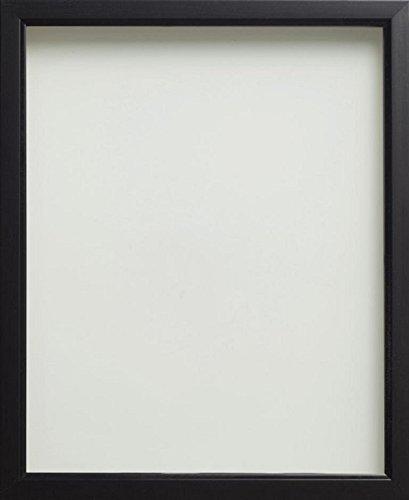 Bilderrahmen 8x10 Schwarzer Holz (Frame Company Bilderrahmen aus der Drayton Reihe, in verschiedenen Größen erhältlich, Schwarz, schwarz, 10x8 inches - 25.4x20.3cm)