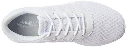 adidas Damen Lite Racer W Sneaker Low Hals Elfenbein (Ftwbla/ftwbla/plamat)