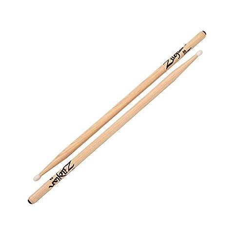 Anti-Vibe 5A Sticks, Nylon Tip (Hickory 5a Nylon Tip)
