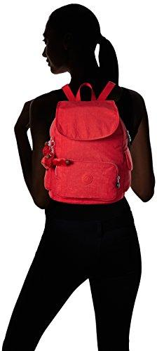Kipling City Pack S, Sacs Portés Dos Femme Rouge (REF35J Vibrant Red)