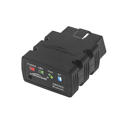 OBD2 Scanner Universal Auto Diagnosewerkzeug OBDII Auto Codeleser Karte Auto Motor O2-Sensor, Bluetooth-Verbindung, unterstützen alle OBD-II O2 Power Adapter